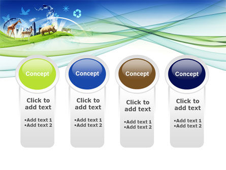 Ecological Balance Between Various Types Of Life PowerPoint Template Slide 5