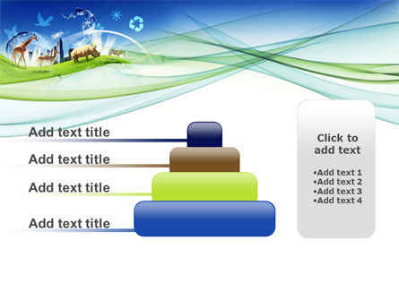 Ecological Balance Between Various Types Of Life PowerPoint Template Slide 8