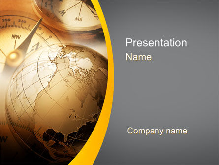 Navigation In Global Business PowerPoint Template