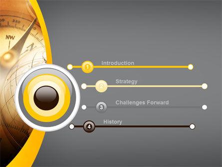 Navigation In Global Business PowerPoint Template, Slide 3, 09865, Global — PoweredTemplate.com