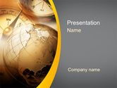 Global: Navigatie In Global Business PowerPoint Template #09865