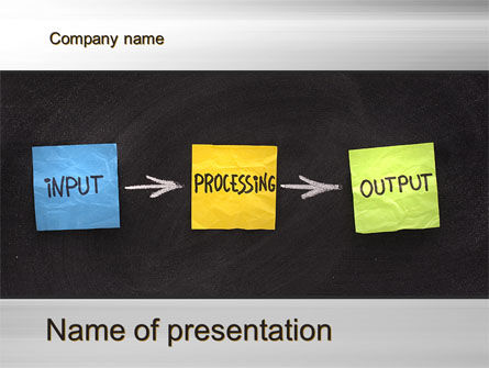 Business Concepts: Workflow PowerPoint Template #09870