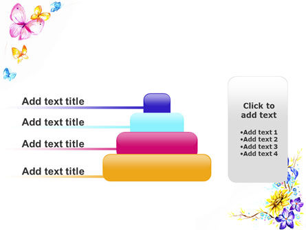 Butterfly Frame PowerPoint Template Slide 8