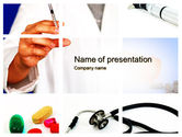 Medical: Educational Medical PowerPoint Template #09874