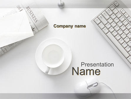 Business: Pure Business PowerPoint Template #09875