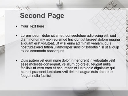 Pure Business PowerPoint Template Slide 2