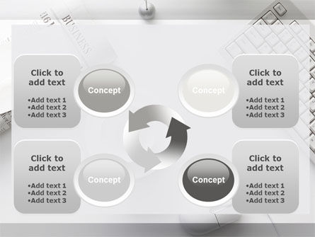 Pure Business PowerPoint Template Slide 9