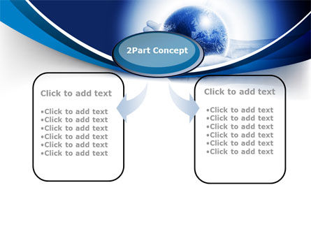 Globe In Hands PowerPoint Template, Slide 4, 09876, Global — PoweredTemplate.com