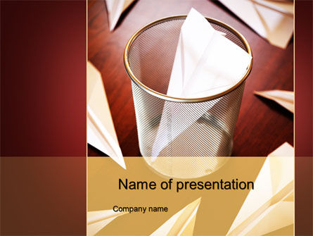 Broken Dreams PowerPoint Template