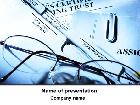 Legal: Corporate Right PowerPoint Template #09882