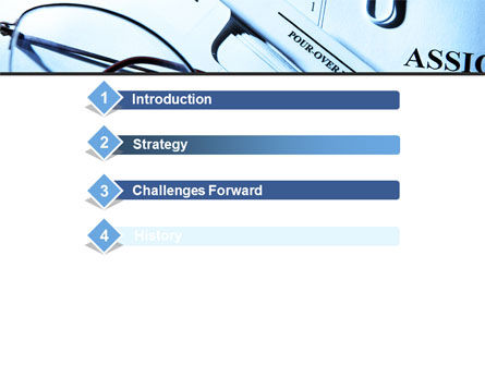 Corporate Right PowerPoint Template, Slide 3, 09882, Legal — PoweredTemplate.com