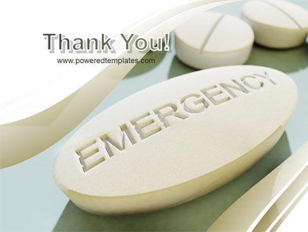Emergency Tablet PowerPoint Template Slide 20