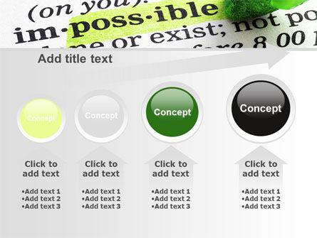 To Make It Possible PowerPoint Template Slide 13