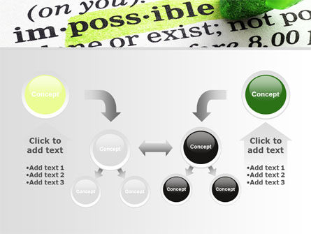 To Make It Possible PowerPoint Template Slide 19