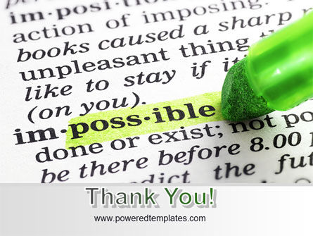 To Make It Possible PowerPoint Template Slide 20