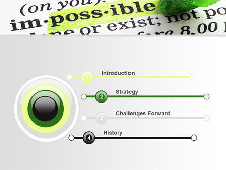 To Make It Possible PowerPoint Template, Slide 3, 09885, Consulting — PoweredTemplate.com