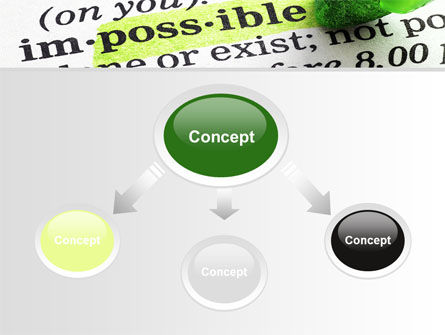 To Make It Possible PowerPoint Template, Slide 4, 09885, Consulting — PoweredTemplate.com