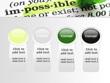 To Make It Possible PowerPoint Template Slide 5