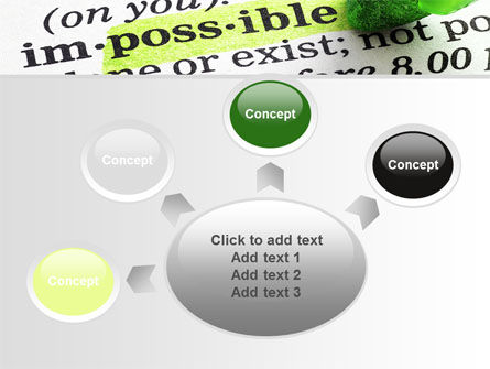 To Make It Possible PowerPoint Template Slide 7