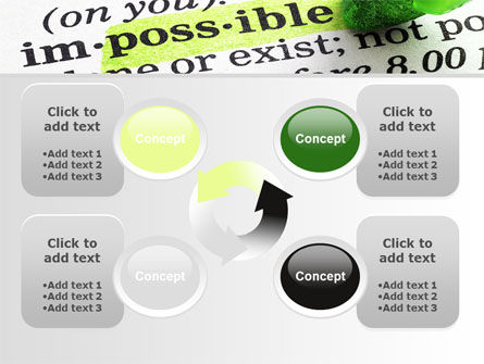 To Make It Possible PowerPoint Template Slide 9