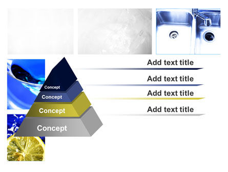 Blue Cocktails Collage PowerPoint Template Slide 12