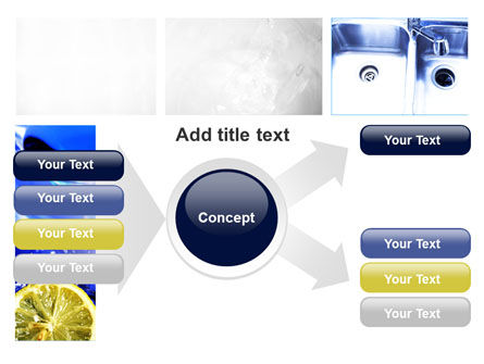 Blue Cocktails Collage PowerPoint Template Slide 14