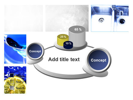 Blue Cocktails Collage PowerPoint Template Slide 16