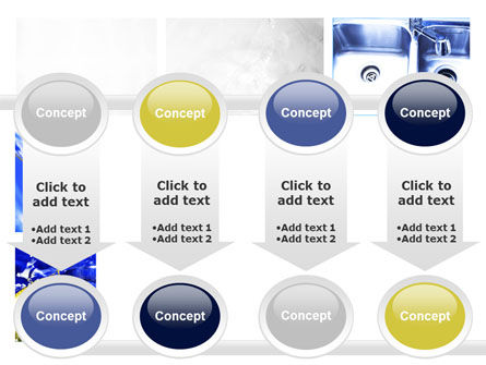 Blue Cocktails Collage PowerPoint Template Slide 18