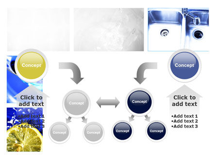 Blue Cocktails Collage PowerPoint Template Slide 19