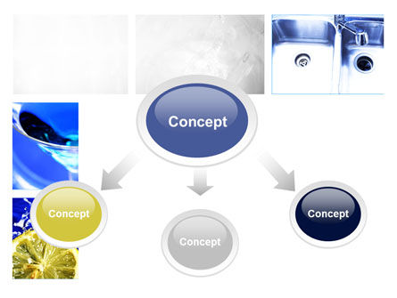 Blue Cocktails Collage PowerPoint Template Slide 4