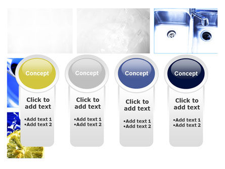 Blue Cocktails Collage PowerPoint Template Slide 5