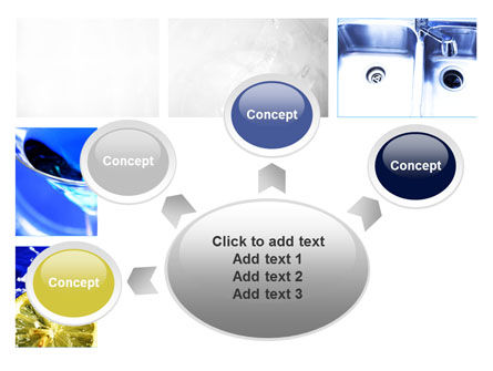 Blue Cocktails Collage PowerPoint Template Slide 7