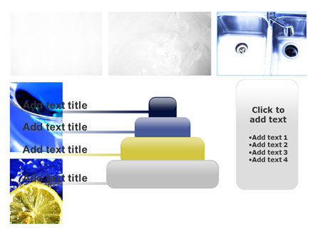 Blue Cocktails Collage PowerPoint Template Slide 8