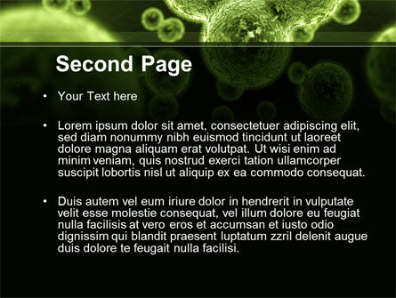 Growth Of Virus PowerPoint Template, Slide 2, 09888, Technology and Science — PoweredTemplate.com
