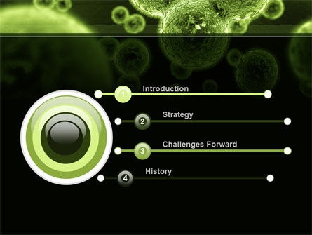 Growth Of Virus PowerPoint Template, Slide 3, 09888, Technology and Science — PoweredTemplate.com