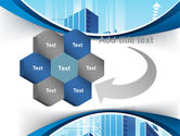 Blue Cities Of The Future PowerPoint Template#11