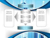 Blue Cities Of The Future PowerPoint Template#13