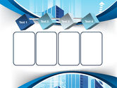 Blue Cities Of The Future PowerPoint Template#18