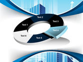 Blue Cities Of The Future PowerPoint Template#19