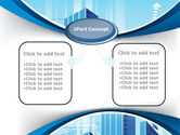 Blue Cities Of The Future PowerPoint Template#4