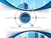 Blue Cities Of The Future PowerPoint Template#7
