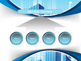 Blue Cities Of The Future PowerPoint Template#8