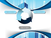 Blue Cities Of The Future PowerPoint Template#9