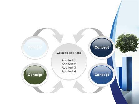 Growing Histogram PowerPoint Template Slide 6