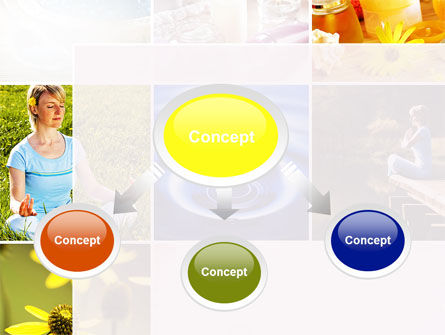 Outdoor Meditation PowerPoint Template, Slide 4, 09894, Health and Recreation — PoweredTemplate.com
