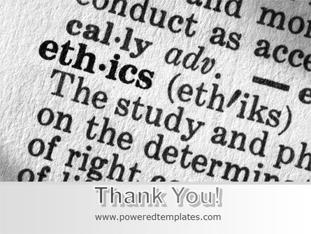 Ethics PowerPoint Template Slide 20