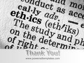 Ethics PowerPoint Template#20