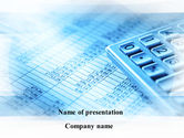 Financial/Accounting: Calculated Items PowerPoint Template #09896