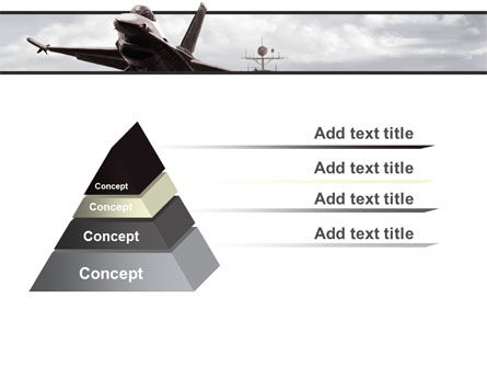 General Dynamics F-16 Fighting Falcon Starting With The Carrier PowerPoint Template Slide 12