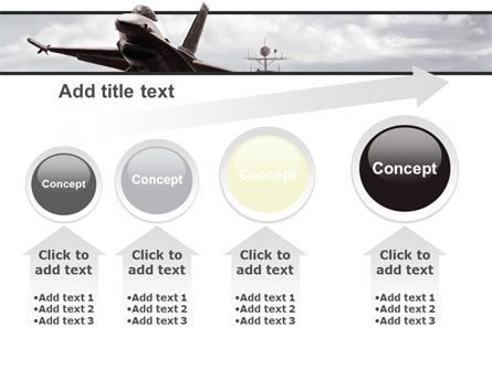 General Dynamics F-16 Fighting Falcon Starting With The Carrier PowerPoint Template Slide 13